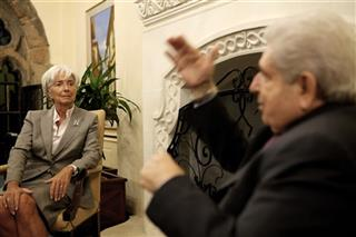 Christine Lagarde, Dimitris Christofias