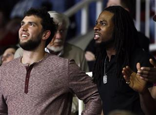 Andrew Luck, Richard Sherman