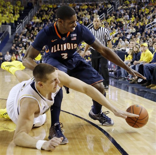Mitch McGary, Brandon Paul