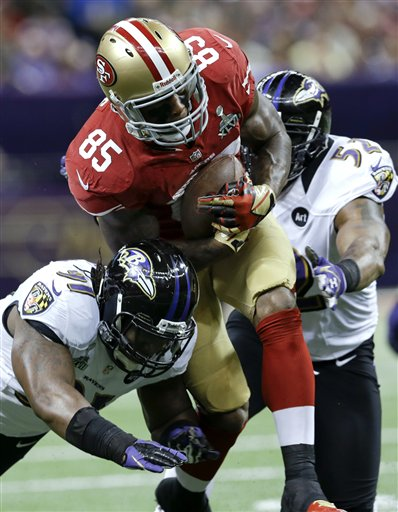 Vernon Davis, Courtney Upshaw, Ray Lewis