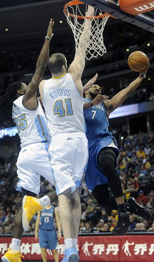 Kenneth Faried, Kosta Koufos, Derrick Williams