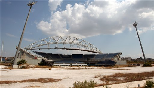 Greece Olympics Abandoned Venues