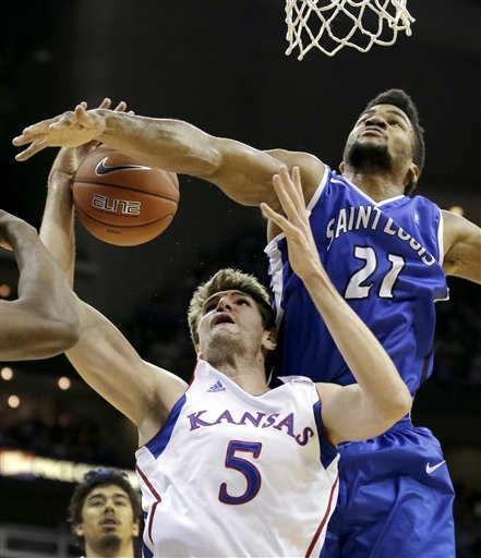 Jeff Withey, Dwayne Evans