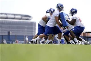 Giants Rookie Camp Football