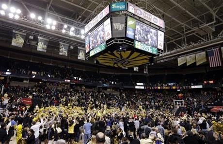 NC State Wake Forest Basketball