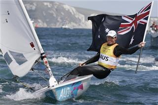 APTOPIX London Olympics Sailing Men