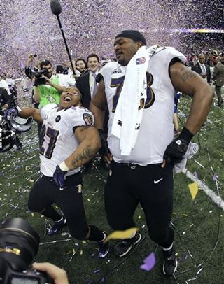 Ray Rice, Bryant McKinnie