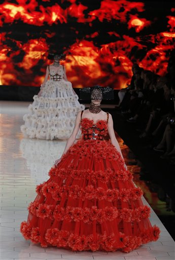 Paris Fashion Alexander McQueen