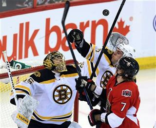Bruins Senators Hockey