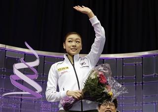 Kim Yu-na, of South Korea,