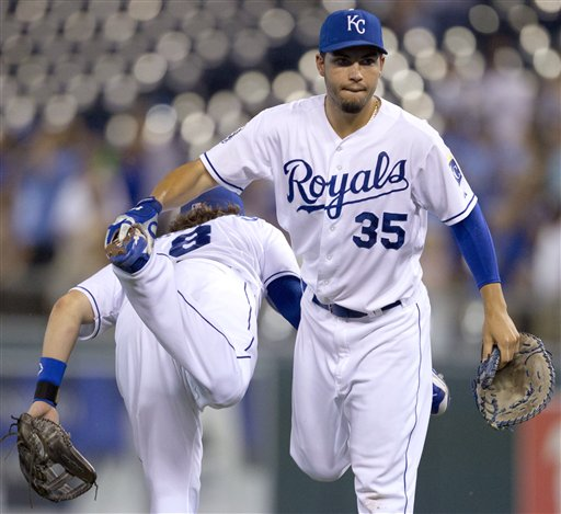 Mike Moustakas, Eric Hosmer