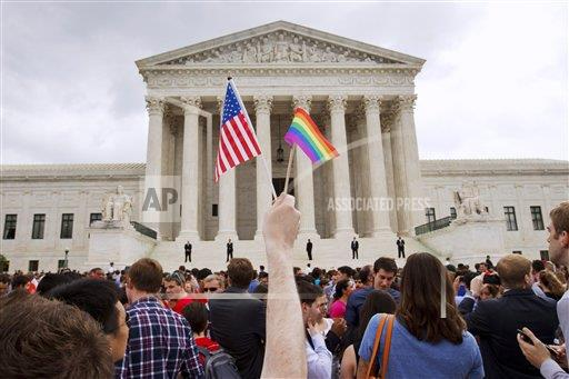 APTOPIX Supreme Court Gay Marriage