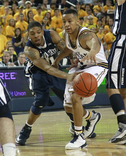 Jermaine Marshall, Trey Burke
