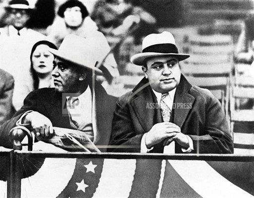 Watchf Associated Press Domestic News  Illinois United States APHS187452 Al Capone and A.J. Prignano
