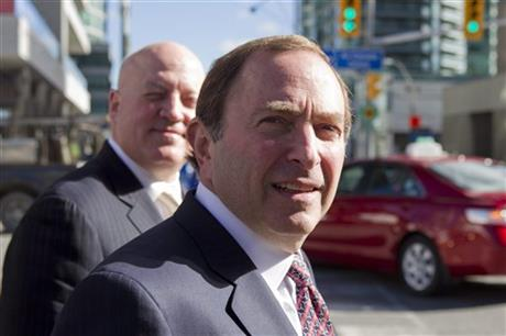 Gary Bettman; Bill Daly