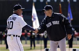 Jim Leyland, Joe Girardi