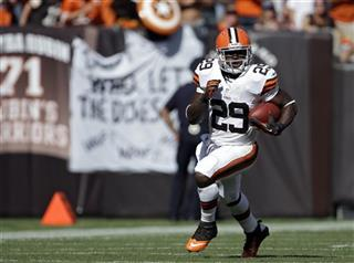Browns Q and A: Running back Brandon Jackson photo