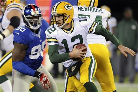 Aaron Rodgers, Jason Pierre-Paul