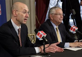 David Stern, Adam Silver