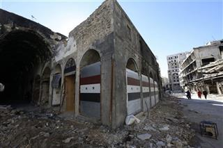 Mideast Syria Abandoned Homs