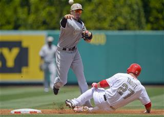 Tyler Greene, Mike Trout