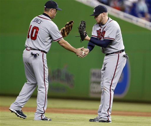 Chipper Jones, Freddie Freeman