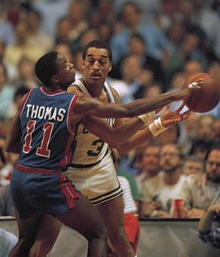 NBA Playoffs Celtics Pistons 1987