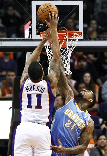 Wilson Chandler, Markieff Morris