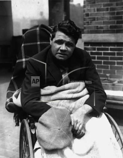 Associated Press Sports New York United States BABE RUTH