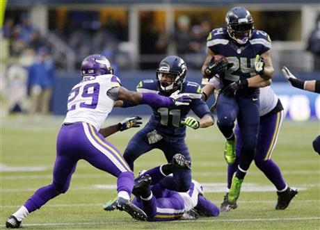 Percy Harvin, Marshawn Lynch, Xavier Rhodes