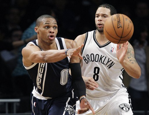 Russell Westbrook, Deron Williams