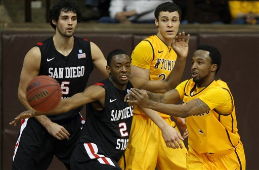 san diego State Wyoming Basketball