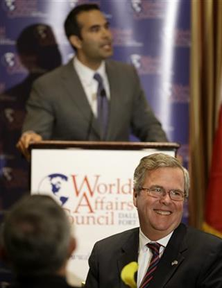 George P. Bush, Jeb Bush
