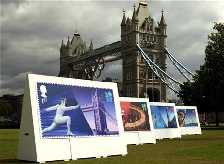 Britain Stamps London Olympics