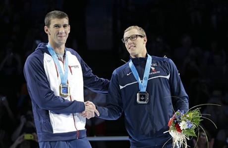 Michael Phelps and Tyler McGill
