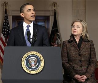 Barack Obama, Hillary Rodham Clinton