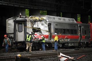 Trains Collide Conn