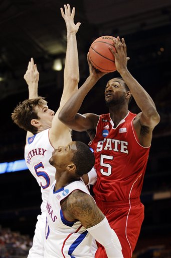 C.J. Leslie, Jeff Withey, Thomas Robinson