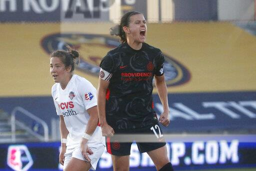 NWSL Spirit Thorns Soccer
