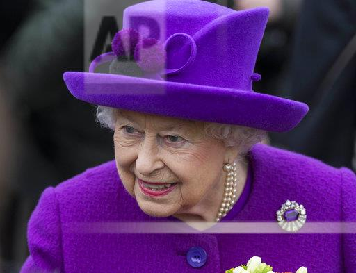 Queen Elizabeth II visits the King George VI Day Centre