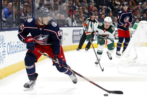 Wild Blue Jackets Hockey