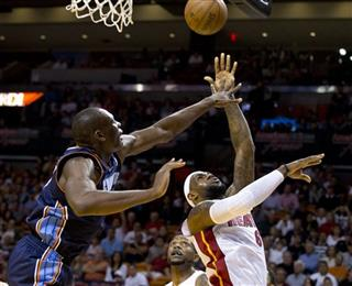 Bismack Biyombo,LeBron James