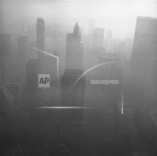Watchf AP A  NY USA APHS318955 Air Pollution 1966