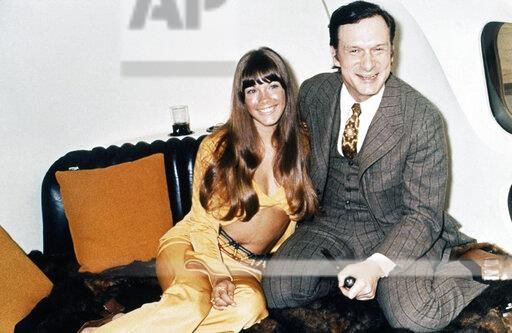 Watchf Associated Press     APHS198609 Hugh Hefner and Barbi Benton 1970