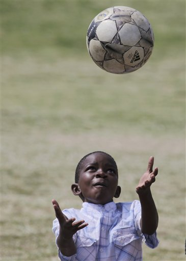 SOUTH AFRICA WCUP FOOTBALL FOR HOPE