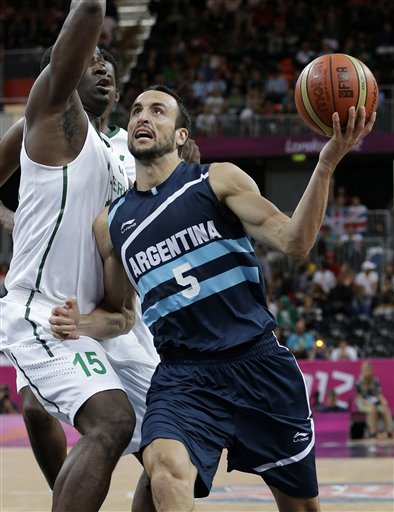 Manu Ginobili, Olumide Oyedeji