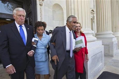 Steny Hoyer, Barbara Lee, Charles Rangel, Carolyn B. Maloney