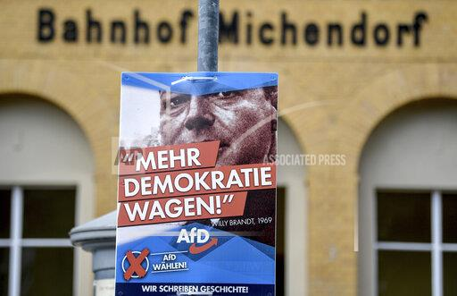 AfD advertises with Willy Brandt