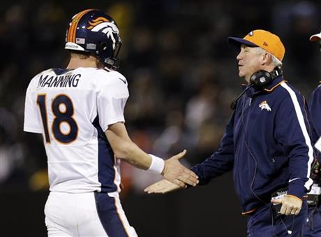 John Fox, Peyton Manning