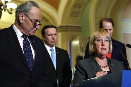 Charles Schumer, Chris Murphy, Patty Murray, Ron Wyden